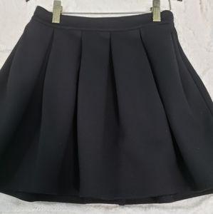 Aeropostale Pleated Black Skirt